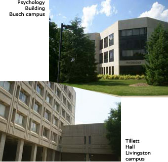 Rutgers Psychology Buildings